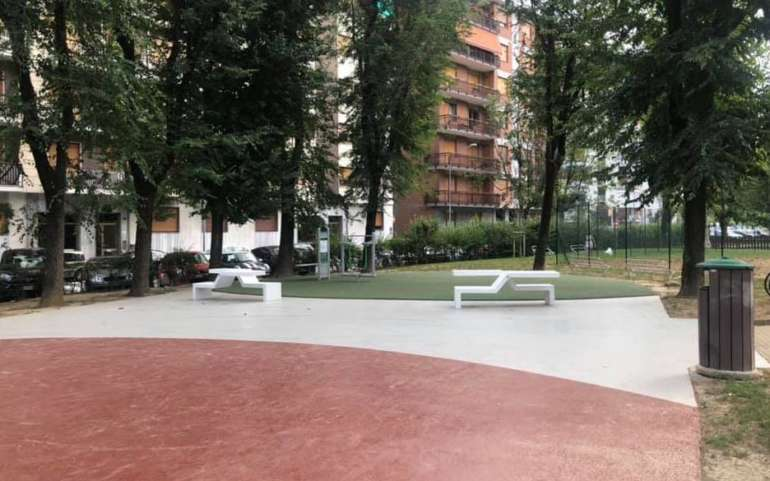 NUOVE AREE PLAYGROUND E RELAX.